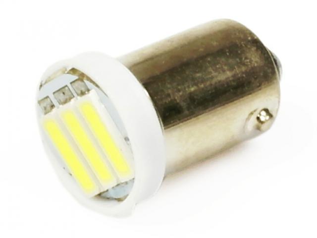 Interlook LED auto žárovka 12V LED BA9S H6W 3SMD7014 1W
